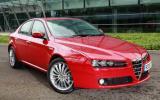 Alfa Romeo 159 1750 TBi front quarter