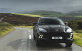 Aston Martin DBX 2020 road test review - on the road front