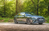 Audi S4 TDI 2019 road test review - static front