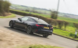 29 BMW M4 Competition 2021 RT cornering rear