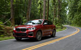 BMW X4 2018 road test review hero forest