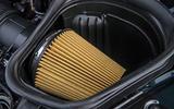 Ford Mustang Bullitt 2018 road test review - air intake