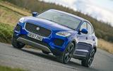 Jaguar E-Pace review cornering
