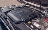 Jaguar F-Type 2020 road test review - engine