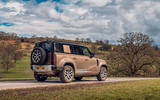 Land Rover Defender 2020 road test review - static rear