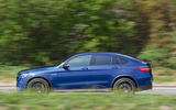 Mercedes-AMG GLC 63 S road test review on the road side