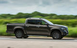 Mercedes-Benz X-Class road test review on the road side