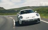 29 Porsche 911 GT3 2021 RT on road front