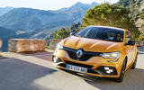 Renault Megane RS 280 2018 road test review on the road cornering