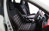 Volkswagen Polo GTI 2018 road test review front seats