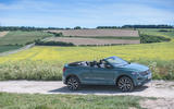 Volkswagen T-Roc Cabriolet 2020 road test review - static side