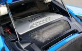 3.5-litre V6 Lotus Evora S engine