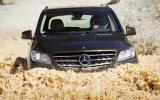 Mercedes-Benz ML 350 wading