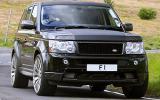 Range Rover Sport Kahn Cosworth cornering