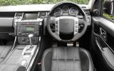 Range Rover Sport Kahn Cosworth dashboard