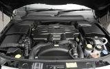 Range Rover Sport Kahn Cosworth engine bay