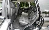 Range Rover Sport Kahn Cosworth rear seats