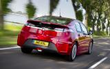 Vauxhall Ampera rear