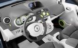 Renault Kangoo Be Bop Z.E. 44kW dashboard