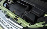 2.2-litre Range Rover Evoque hybrid engine