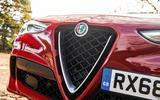 Alfa Romeo Stelvio Quadrifoglio 2019 road test review - nose
