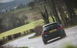 3 alpina d3 touring 2021 uk first drive review hero rear