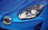Alpine A110 2018 road test review headlights