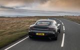 Aston Martin DBS Superleggera 2018 road test review - hero rear