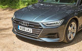 Audi A7 Sportback 2018 road test review front end