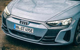 3 audi e tron gt 2021 lhd uk first drive review nose