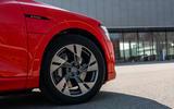 Audi E-tron Sportback 2020 road test review - alloy wheels