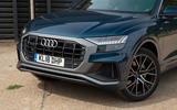 Audi Q8 50 TDI Quattro S Line 2018 road test review - front end