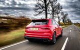 Audi RS Q3 2020 road test review - hero rear