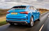 Audi RS Q3 Sportback 2020 road test review - hero rear