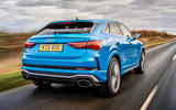 Audi RS Q3 Sportback 2020 road test review - hero rear