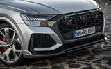 Audi RS Q8 2020 road test review - front end