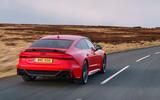 Audi RS7 Sportback 2020 road test review - hero rear