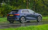 Audi S3 Sportback 2020 road test review - hero rear