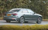 Audi S4 TDI 2019 road test review - hero rear
