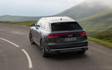 Audi SQ8 2019 road test review - hero rear