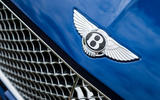 Bentley Continental GT 2018 Autocar road test review bonnet badge