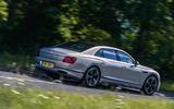 Bentley Flying Spur 2020 road test review - hero rear
