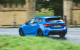 BMW 1 Series 118i 2019 road test review - hero rear