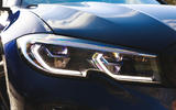 BMW 3 Series Touring 2020 road test review - headlights