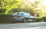 BMW 3 Series 320d 2019 Road Test review - hero rear