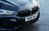 BMW 8 Series Coupé 2019 road test review - front bumper