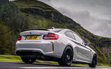 BMW M2 CS 2020 road test review - hero rear