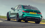 3 bmw m3 competition 2021 uk first drive review ok hero rear