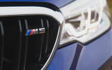 BMW M5 2018 review grille badge