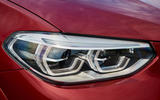 BMW X4 2018 road test review headlights